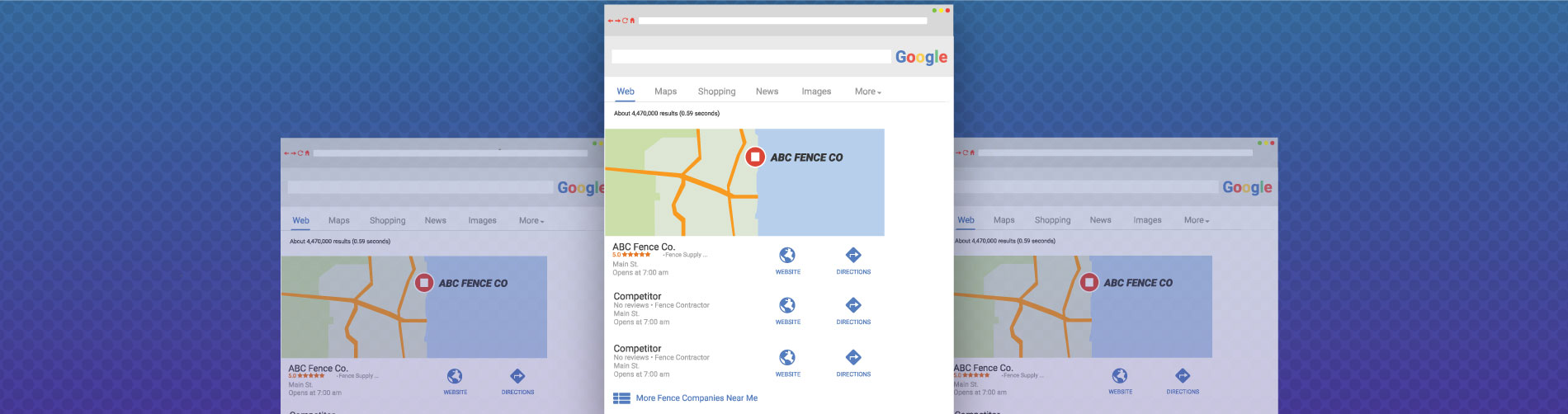 Local SEO for fence companies